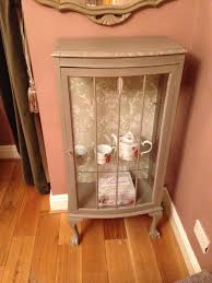 small china cabinet for sale small china display cabinet painted in french linen annie sloan and