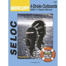 amazon com seloc service manual mercury u0026 mariner all 4 stroke