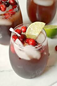 non alcoholic cranberry spritzer frugal eh