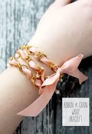 wrap wrist bracelet images Ribbon and chain wrap bracelet jpg