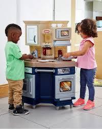Little Tikes Wooden Kitchen by New Kidkraft Super Chef Kitchenpretend Play Toy Wooden Kitchen For