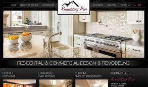 Kitchen Website Design Service Contractor Web Design Contractor Website Design Weblinx