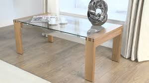 wood coffee table with glass top oak coffee table with glass top glass coffee table