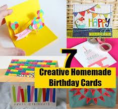 7 best images of creative diy birthday card ideas unique