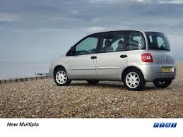 fiat multipla top gear new fiat multipla in uk press fiat group automobiles press