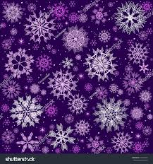 Christmas Card Snowflakes On Violet Background Stock Vector