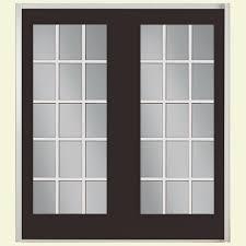 brown patio doors exterior doors the home depot