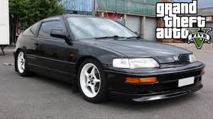 custom honda crx crx build gta 5 custom car build gta v gameplay hd youtube