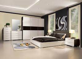 Bedroom Decor White Walls Bedroom Magnificent Bedroom Design With White Covered Bedding