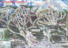 Colorado Ski Areas Map by History Of The Breckenridge Ski Area