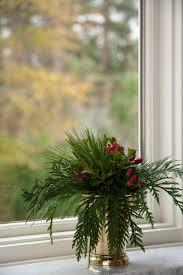 mint julip cup flower arrangement for christmas flower