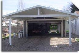 Metal Awning Kits Solid Patio Covers And Covered Carports By Patio Covers Unlimited