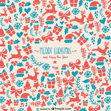 christmas pattern background pattern for christmas vector free
