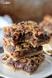 Oatmeal Bars With Chocolate Topping Chocolate Pecan Pie Bars Pecan Pie Bars Filled With Chocolate