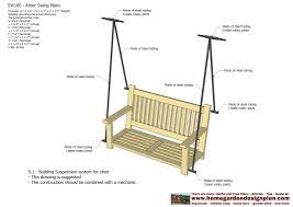 pergola swing plans side table arbor woodworking plans