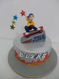 skateboard torte meine cakes und figuren pinterest birthday