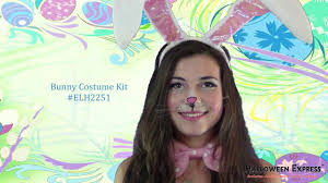 how to create an easter bunny costume look