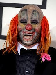 halloween horror nights clown slipknot u0027s clown my grammys weird al david sedaris and more