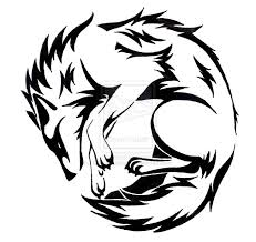 collection of 25 best tribal wolf design