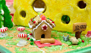 second annual pet themed gingerbread house contest helps bring