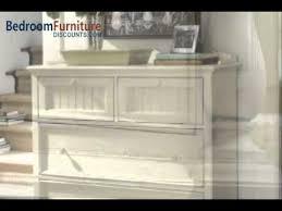 paula deen home steel magnolia platform bedroom set in linen youtube
