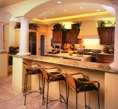 kitchen room design kitchen recessed lighting narrow island feat
