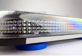 security led lights car multi color 336led car roof emergency advisor 336 led strobe beacon