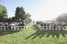 waterfront wedding venues in md relaxed outdoor wedding ceremony in st s city