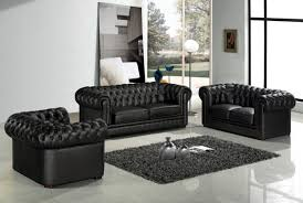 Chesterfield Sofa Set Sofa Set Living Room Furniture With Genuine Leather Sofa Modern