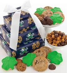 delicious notre dame cookies notre dame gifts cheryls