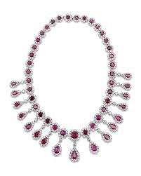 pink ruby necklace images Antique burma ruby and diamond necklace jewelry m s rau antiques png