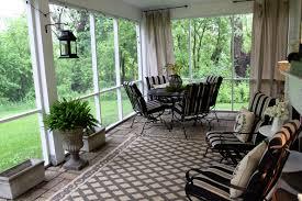 Sun Porch Curtains Ideas Shiny Sun Room Design With Chic Motive Curtains Ideas