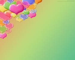 love colorful hearts flying powerpoint templates love colorful