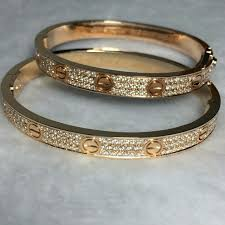 cartier tennis bracelet diamonds images Cartier love bracelet diamond paved men 39 s fashion accessories jpg