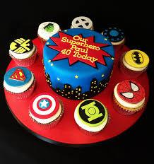 dc comic superhero birthday cake ideas 5059