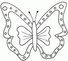 butterfly drawing kids free printable butterfly coloring pages for