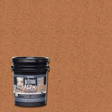 rust oleum restore 1 gal 10x advanced cedartone deck and concrete