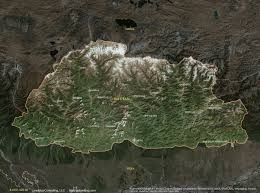 India Satellite Map by Bhutan Satellite Maps Leaddog Consulting