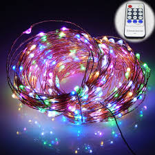 99ft 30m 300 leds copper wire warm white led string lights starry