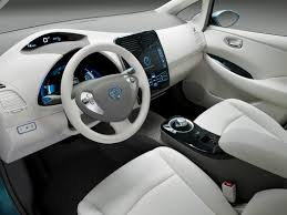 2013 nissan leaf coupe hatchback s 4dr hatchback interior png