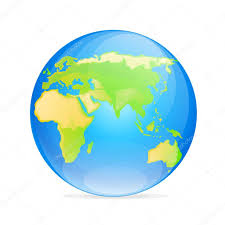 World Map Icon by Globe Europe Asia Icon U2014 Stock Vector Mast3r 59095433