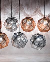 Tom Dixon Copper Pendant Light Etch Copper Pendant Light 32 Cm By Tom Dixon Interior Deluxe