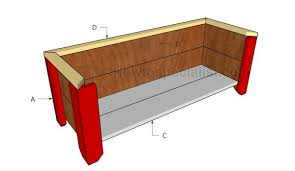Wooden Planter Plans Howtospecialist How by Simple Planter Box Plans Howtospecialist How To Build Step By