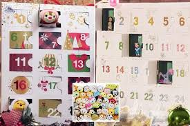 advent calendar the disney store has just revealed its 2017 christmas advent