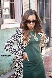 primadonna style ootd leopard print coat u0026 green dress