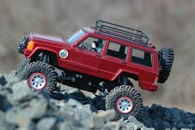 red toy jeep jeep cherokee xj 1 18 nylint crawler rcu forums