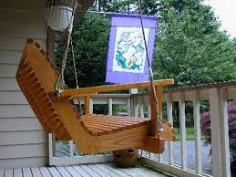 simple outdoor with brown wooden porch swing lowes and white