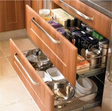 Awesome  Kitchen Cabinets Drawer Slides Design Decoration Of - Kitchen cabinet drawer rails