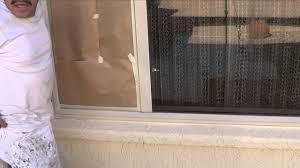 spraying window trim with hvlp youtube