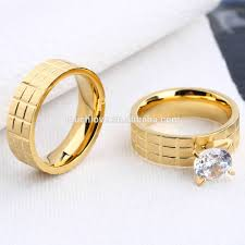 wedding ring in dubai beautiful 18k solid gold plated finger ring wholesale fancy